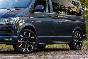 VW Black Side Bars