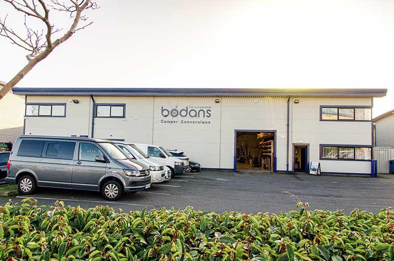 Bodans VW Campervan Sales and Hire Centre