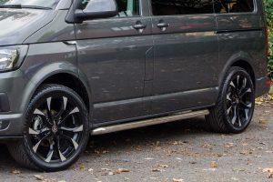 VW Chrome Side Bars