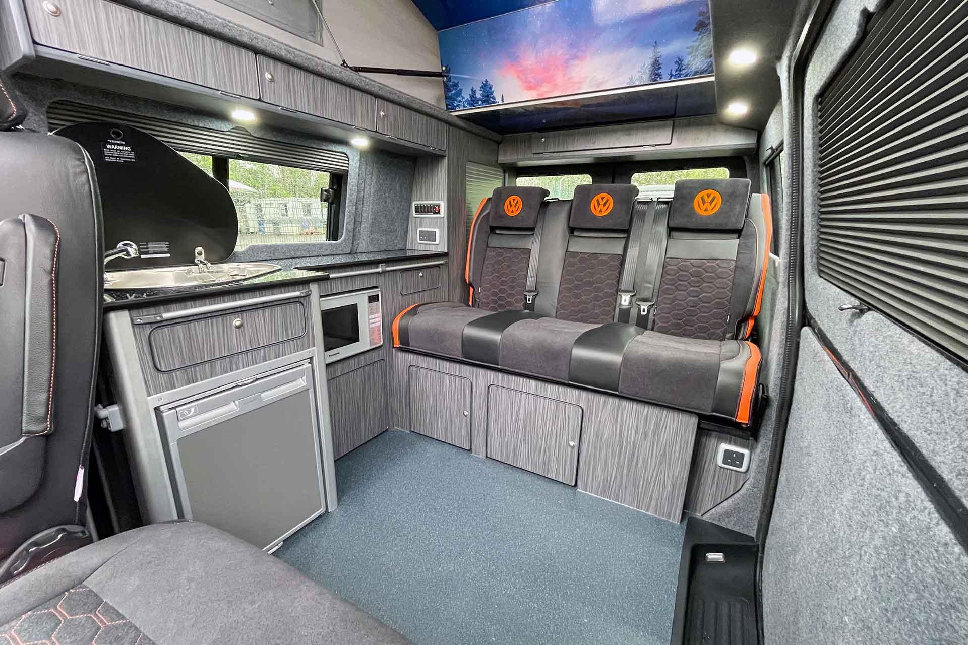VW T6.1 Campervan Interior Conversion