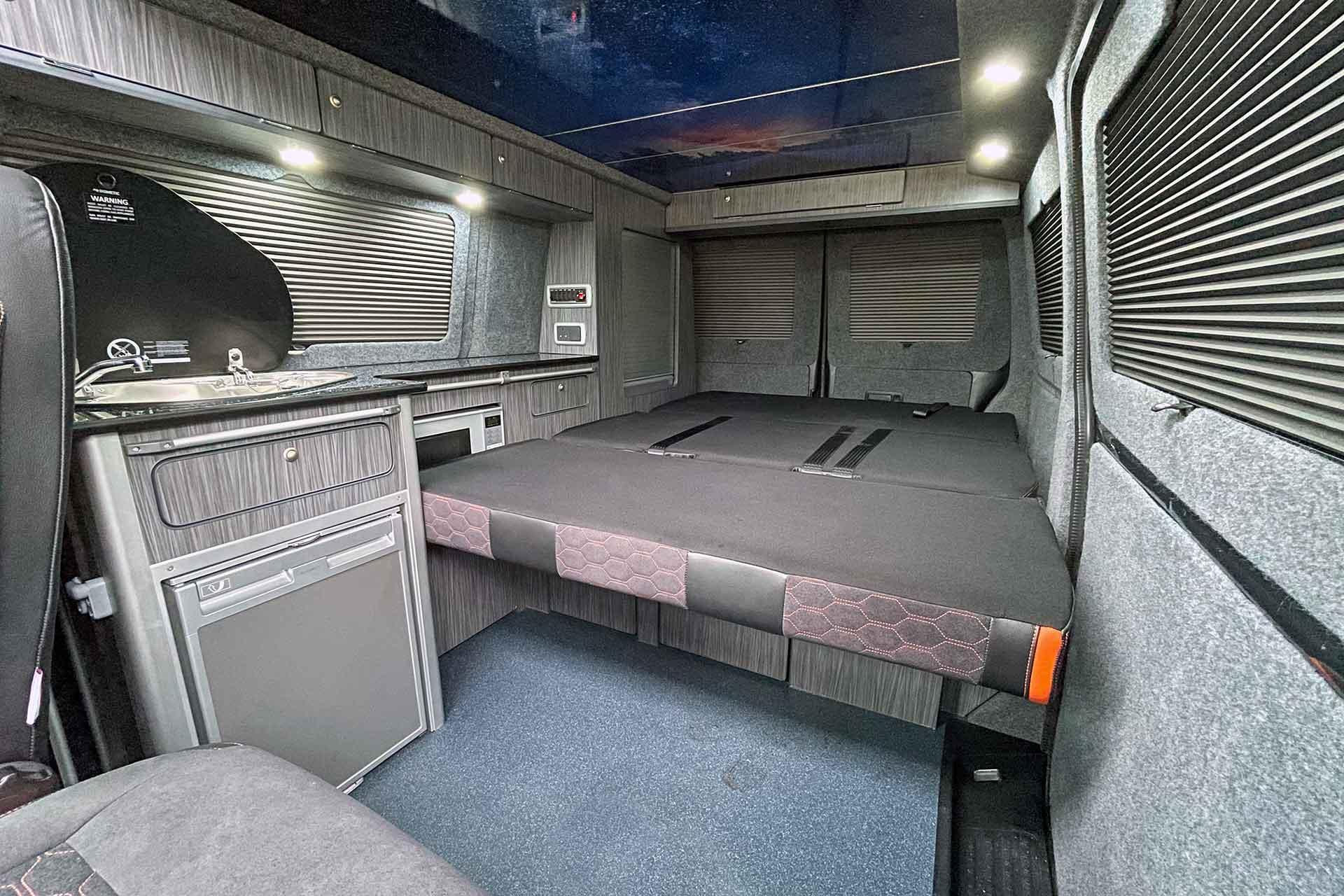 RIB Bed For VW Campervan