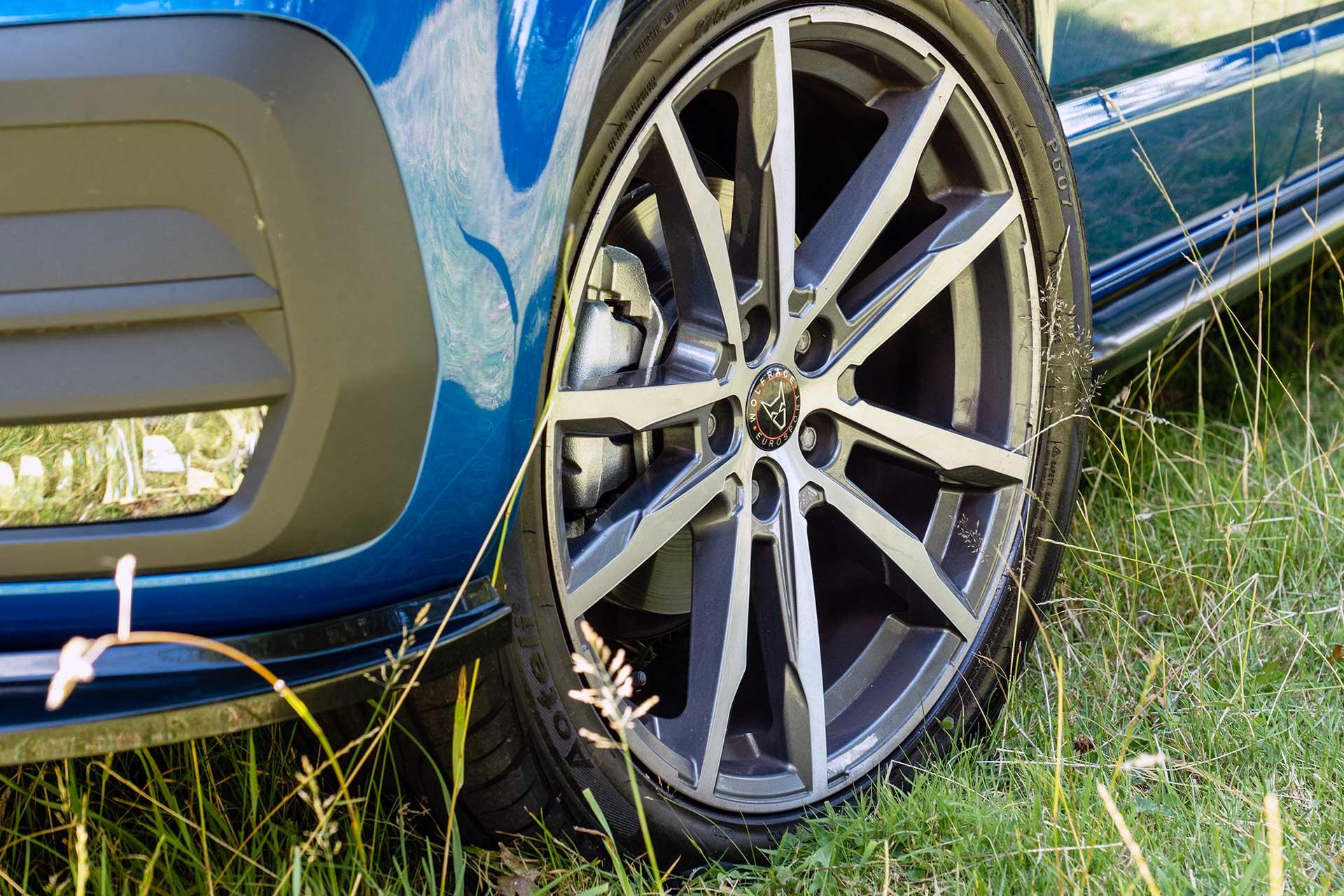 VW Kombi Alloy Wheels