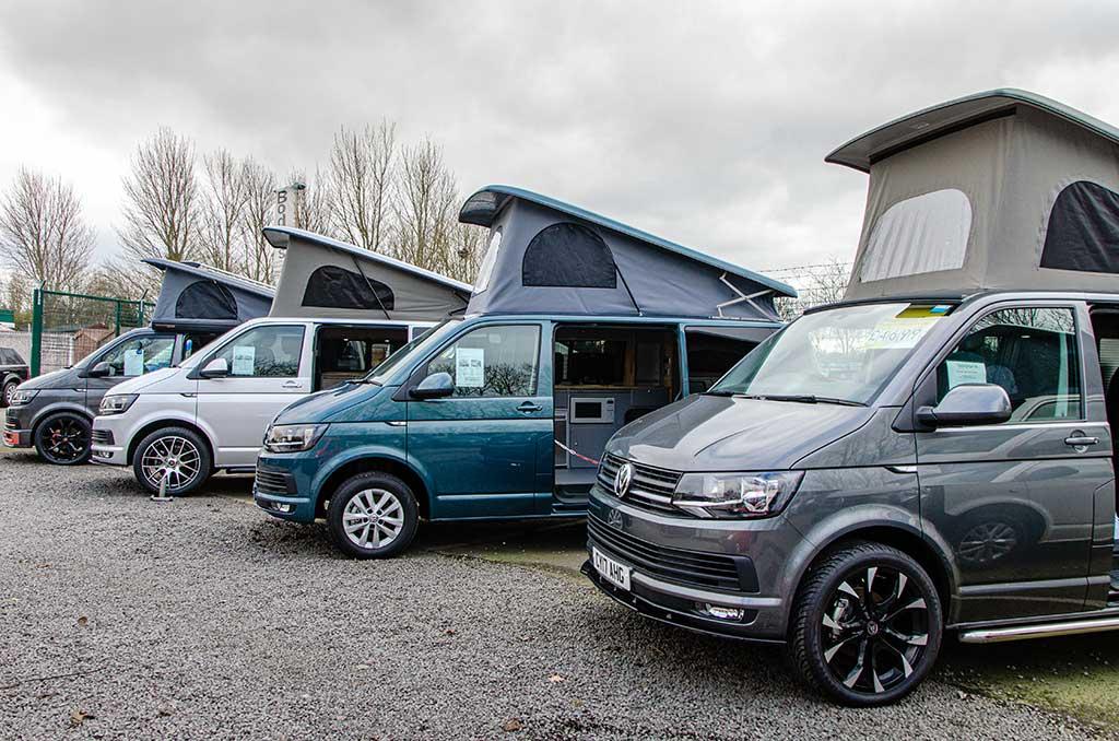 Buy a used VW Campervan from Bodans Campervans