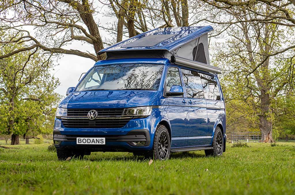 New VW Transporter Campervan Sales By Bodans