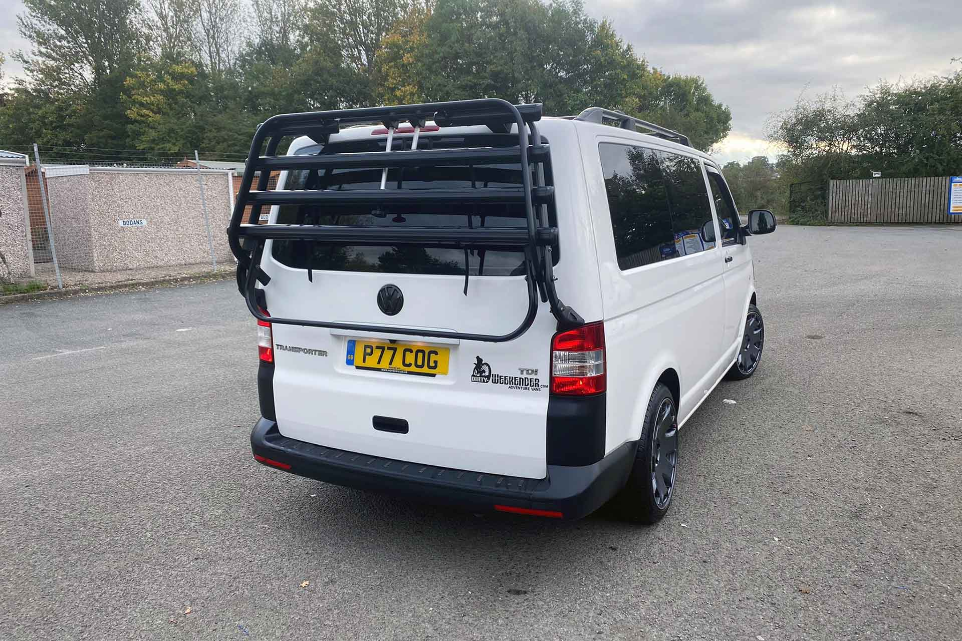 VW Caravelle Cycle Carrier
