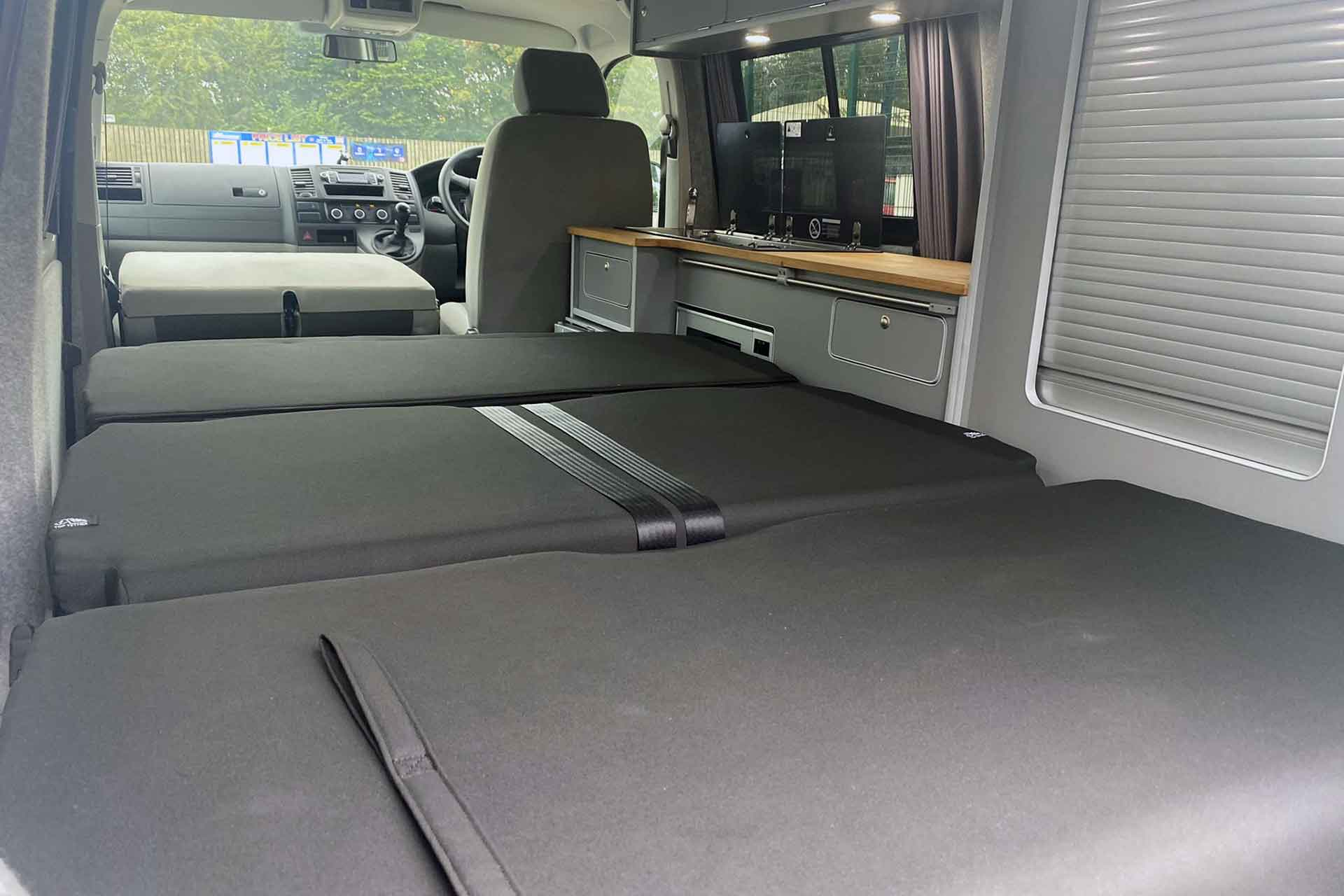 VW Campervan With RIB Bed