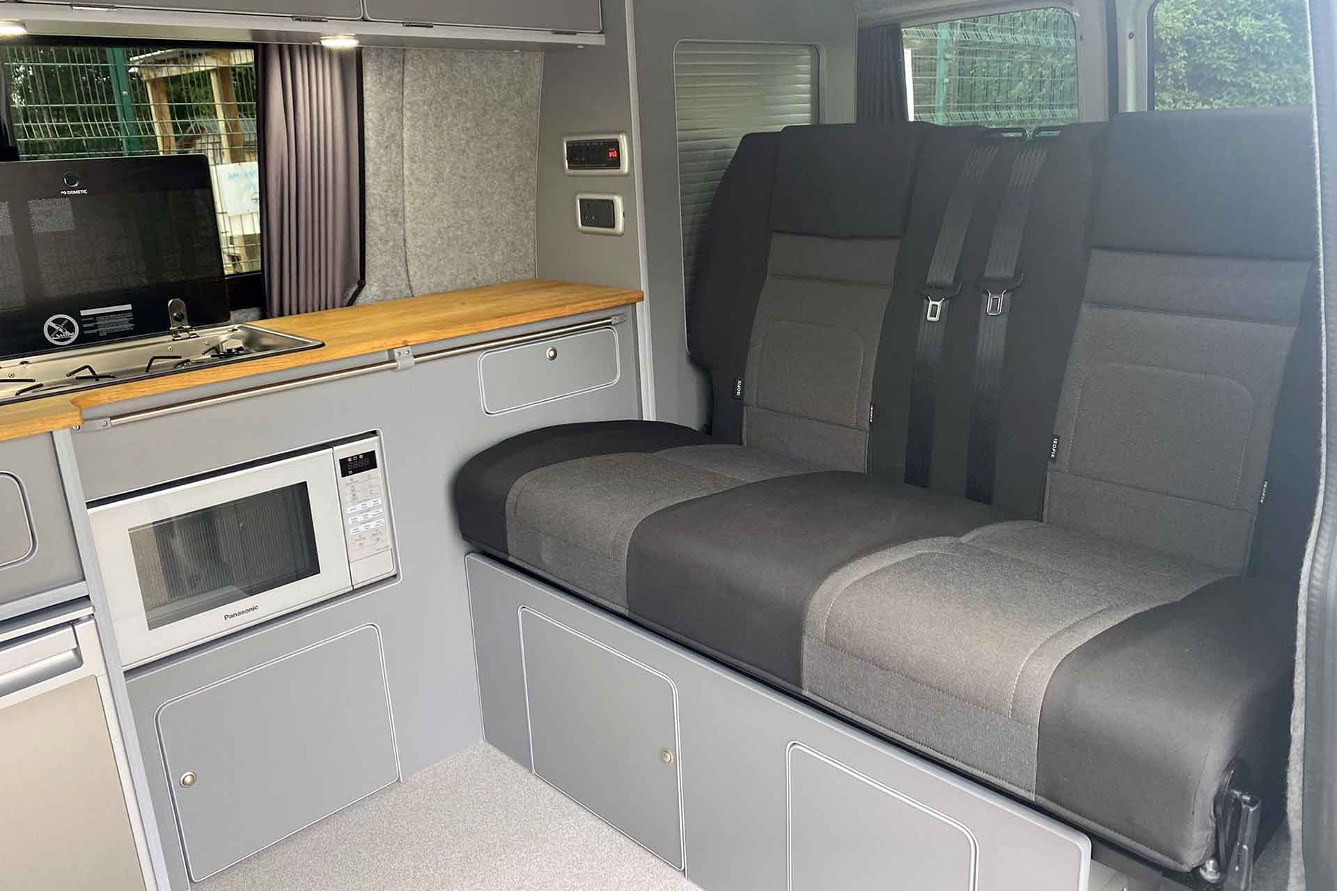 VW Camper With 120cm RIB Bed